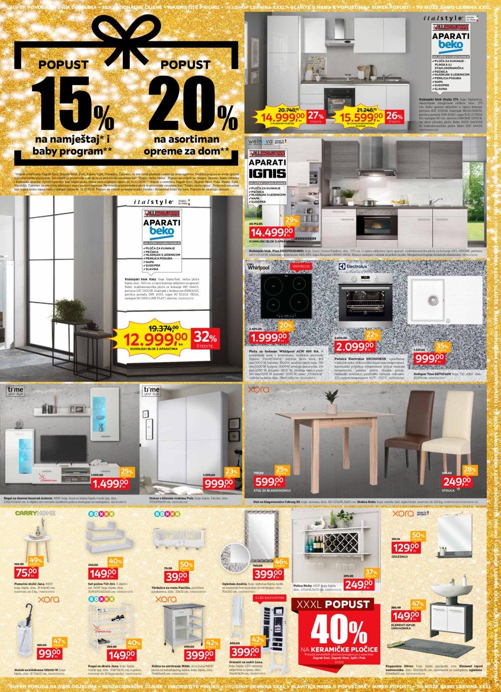 Lesnina 5. godišnjica katalog 15.11.-18.11.2019.