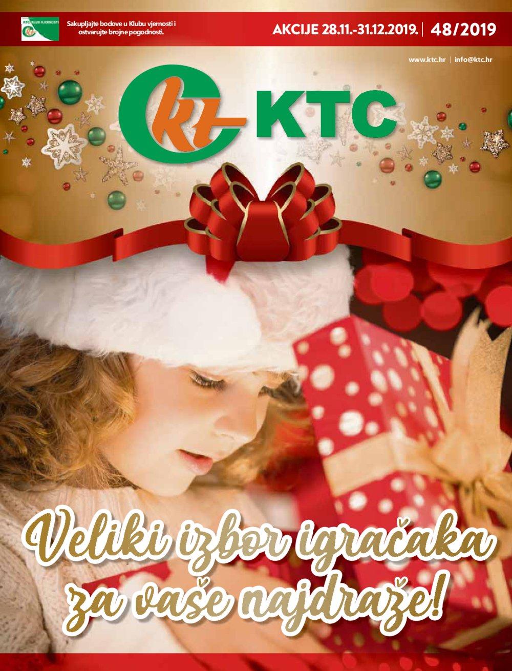 KTC katalog Igračke 28.11.-31.12.2019.