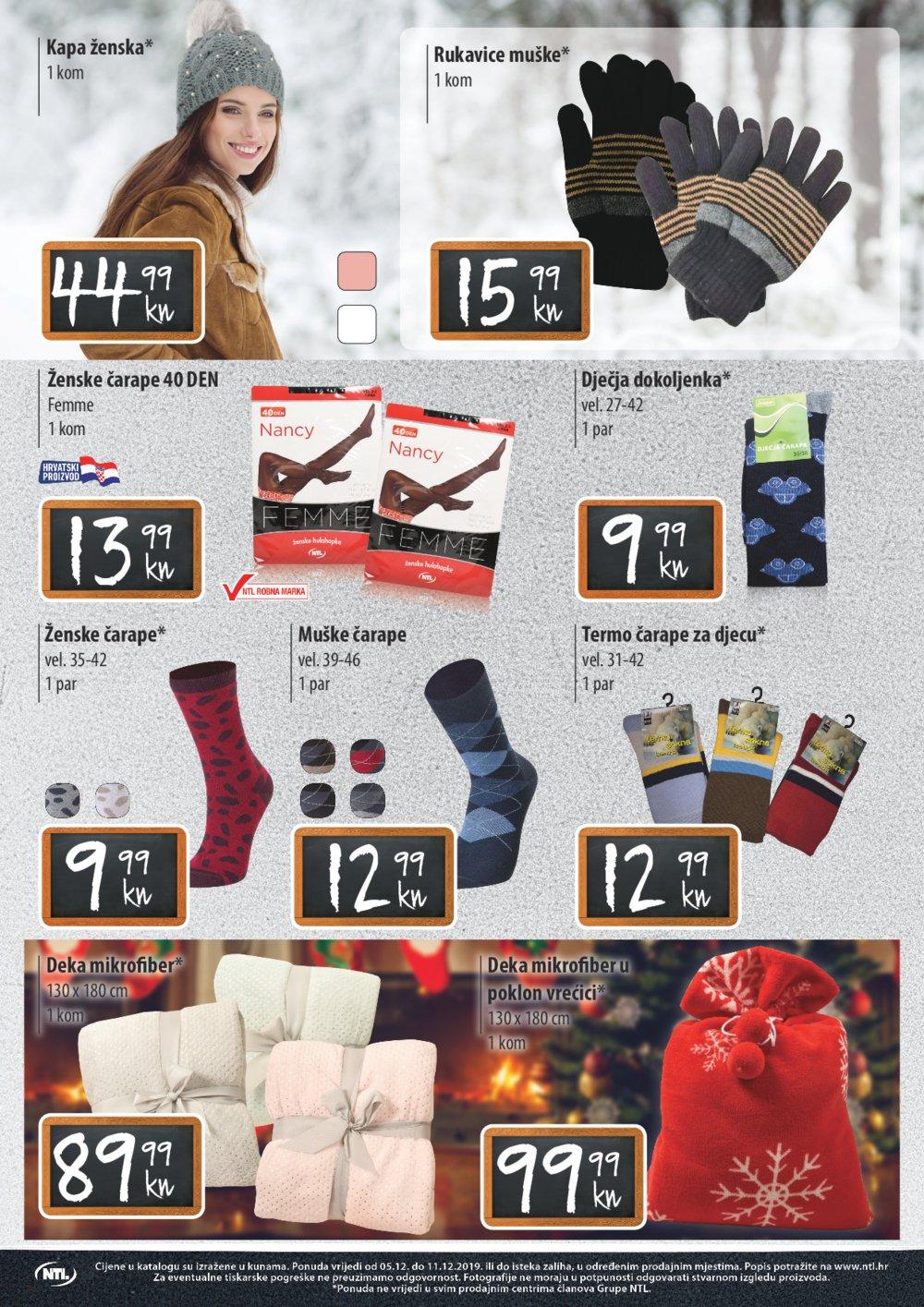 NTL Maxi katalog Akcija 05.12.-11.12.2019.