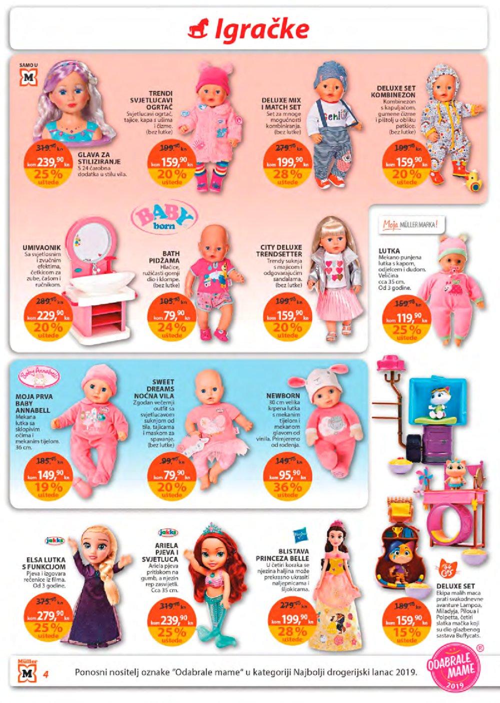 Muller katalog Akcija igračaka 5.12.-18.12.2019.