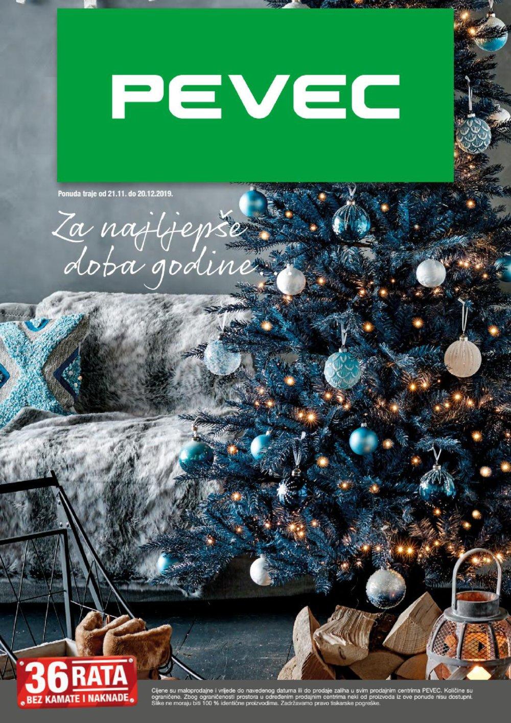 Pevec katalog Božić 21.11.-20.12.2019.