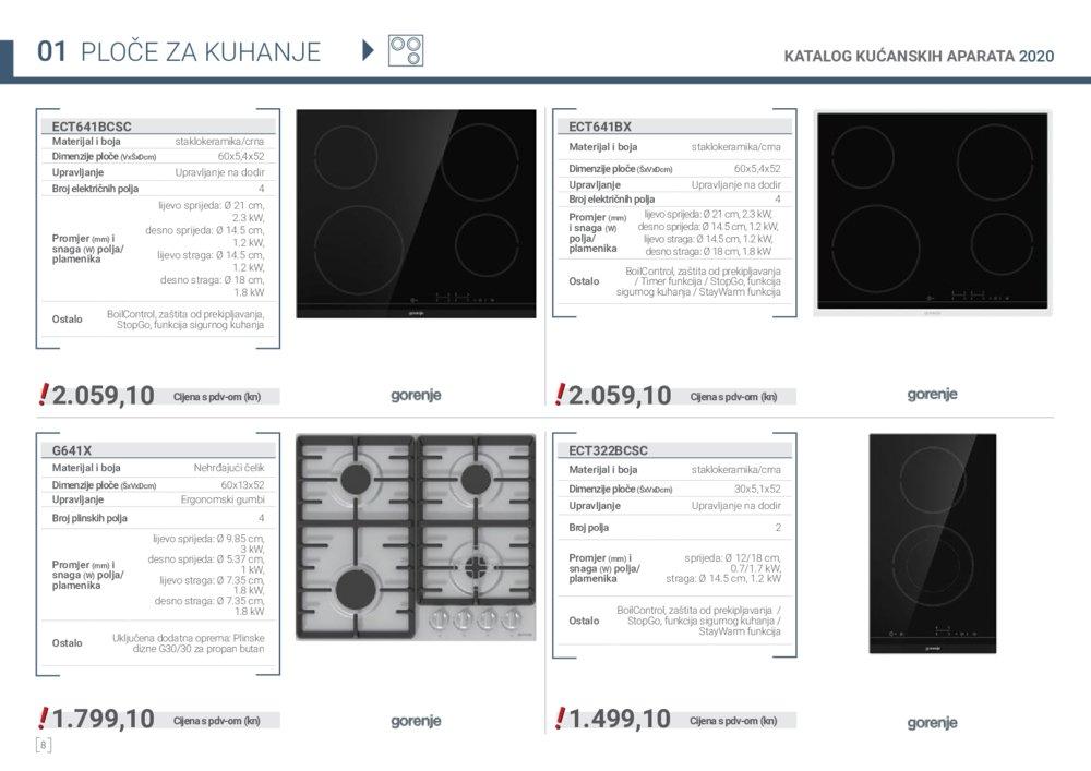 Elgrad katalog kućanskih aparata i sudopera 01.01.-31.12.2020.