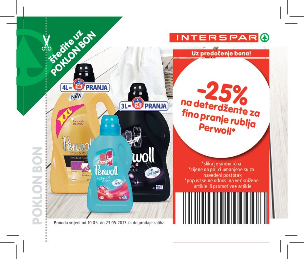 Interspar katalog kupona od 10.5.2017. do 23.5.2017.