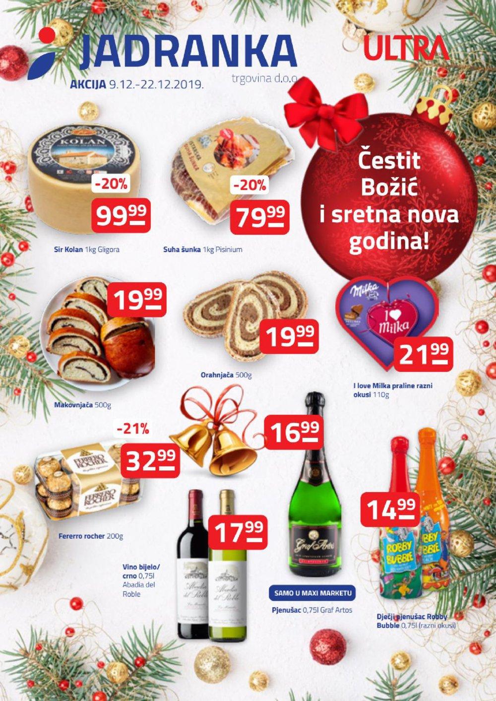 Jadranka katalog Akcija 9.12.-22.12.2019.