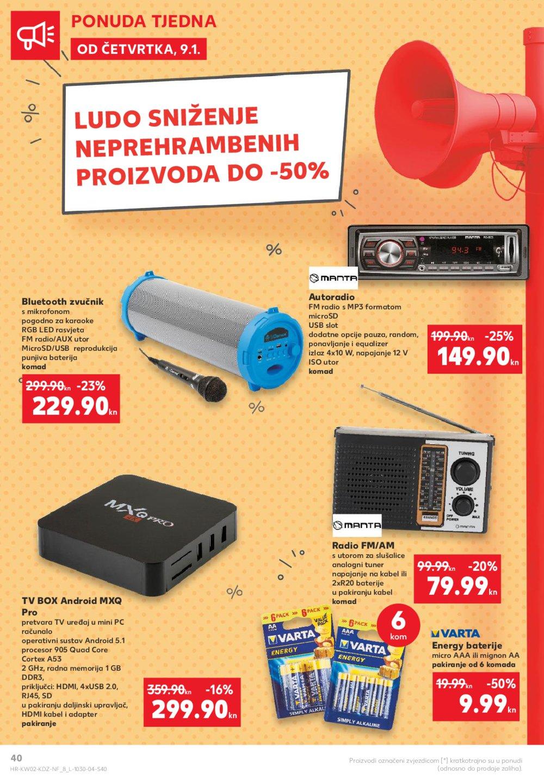 Kaufland katalog Akcija 09.01.-15.01.2020.