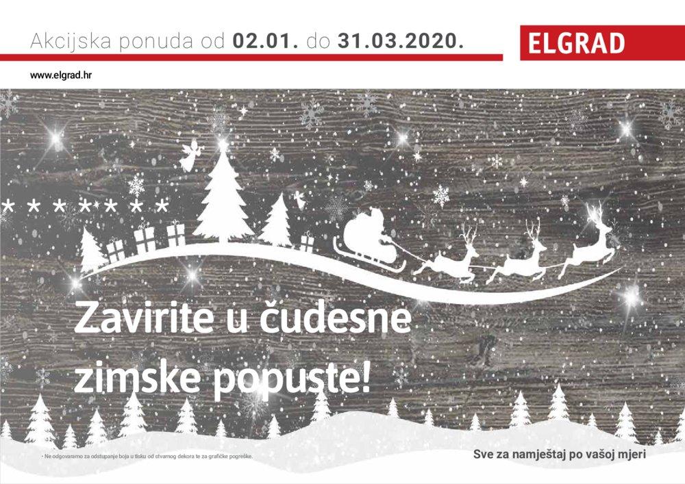 Elgrad katalog Akcija 02.01.-31.03.2020.