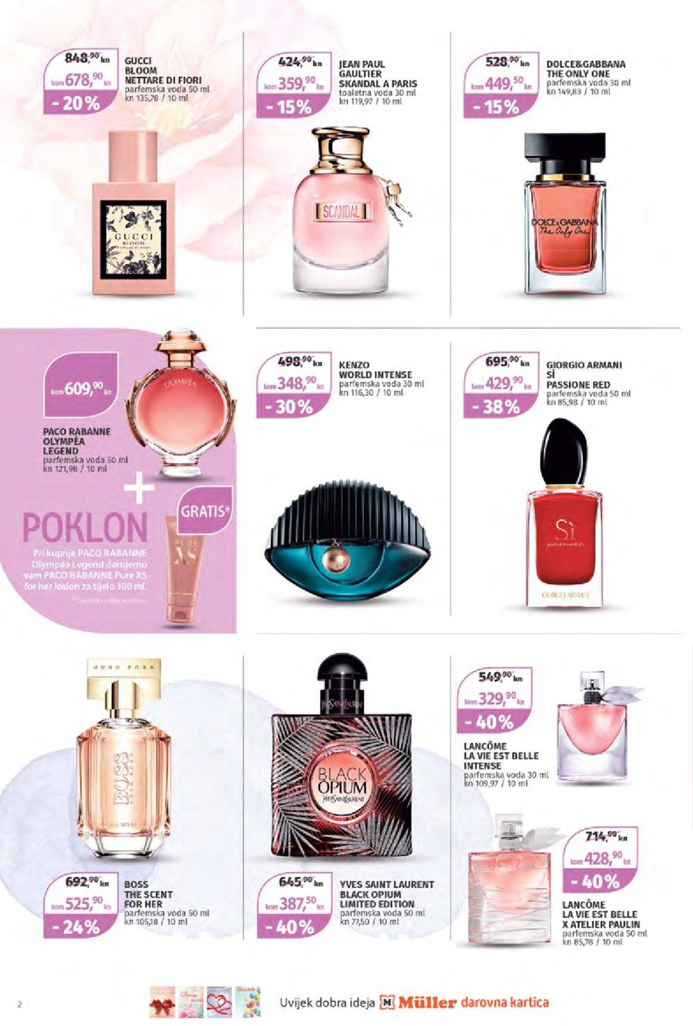 Muller katalog Parfumerija 23.01.-05.02.2020.