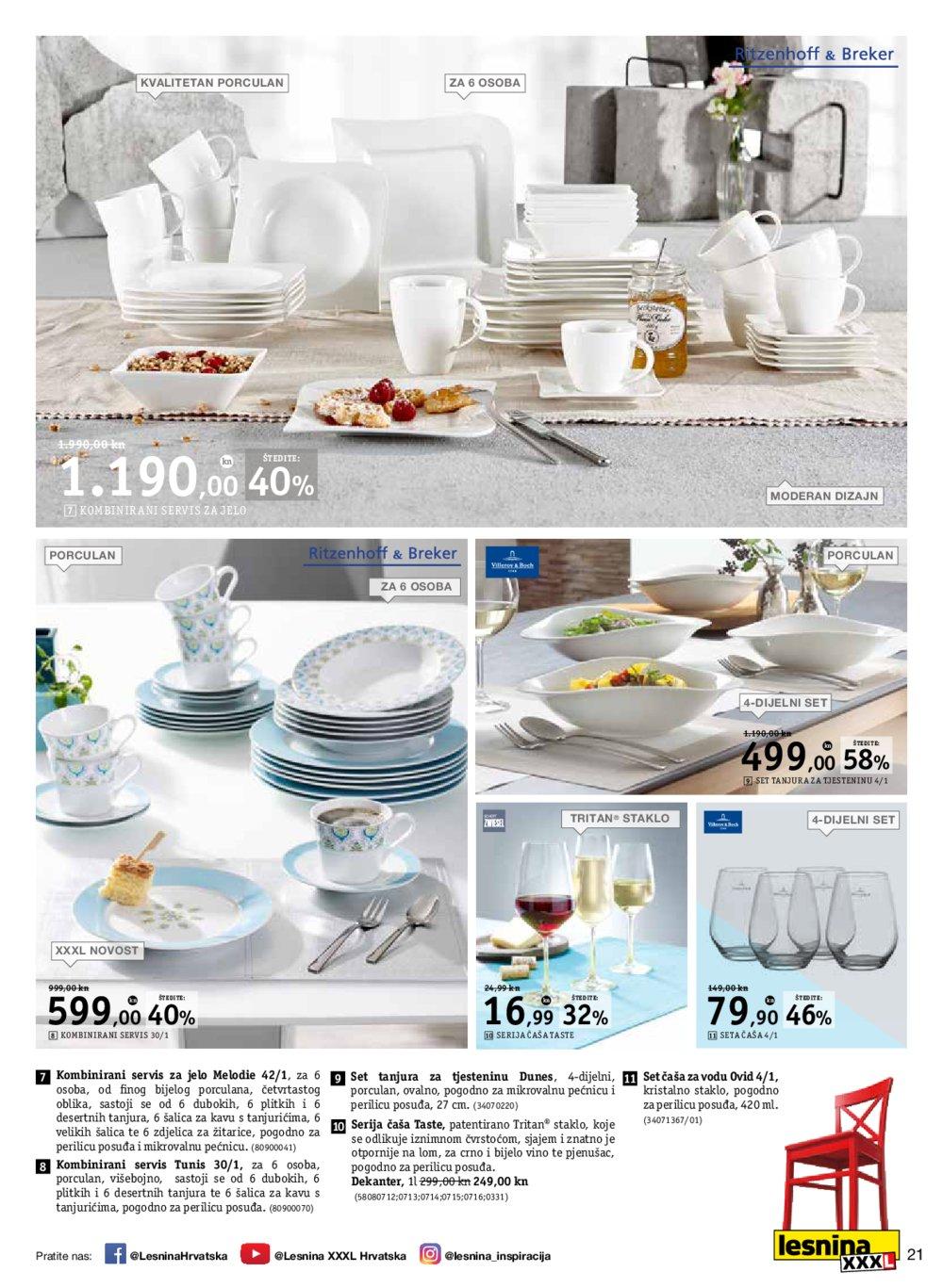 Lesnina katalog Po kuhinju u Lesninu do 22.05.2017.