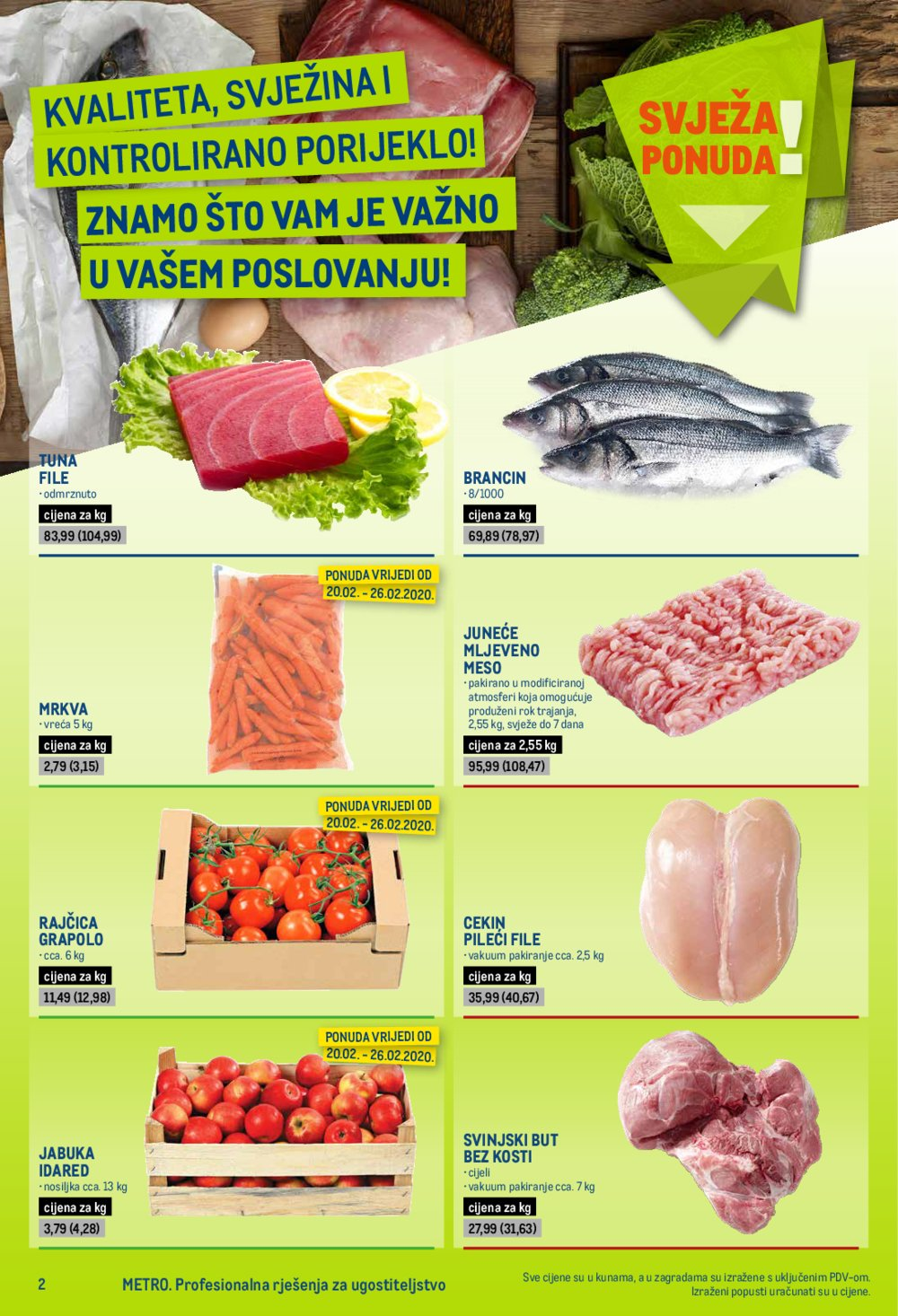 Metro katalog Posebna ponuda za ugostitelje 20.02.-04.03.2020.