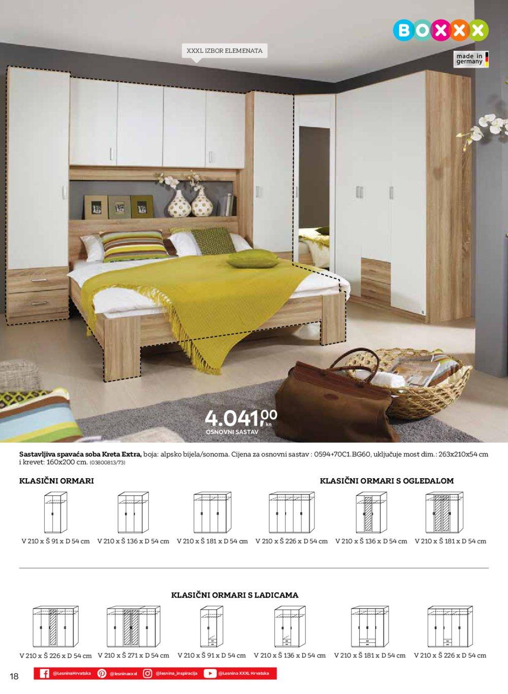 Lesnina katalog Svijet apartmana 18.02.-31.05.2020.