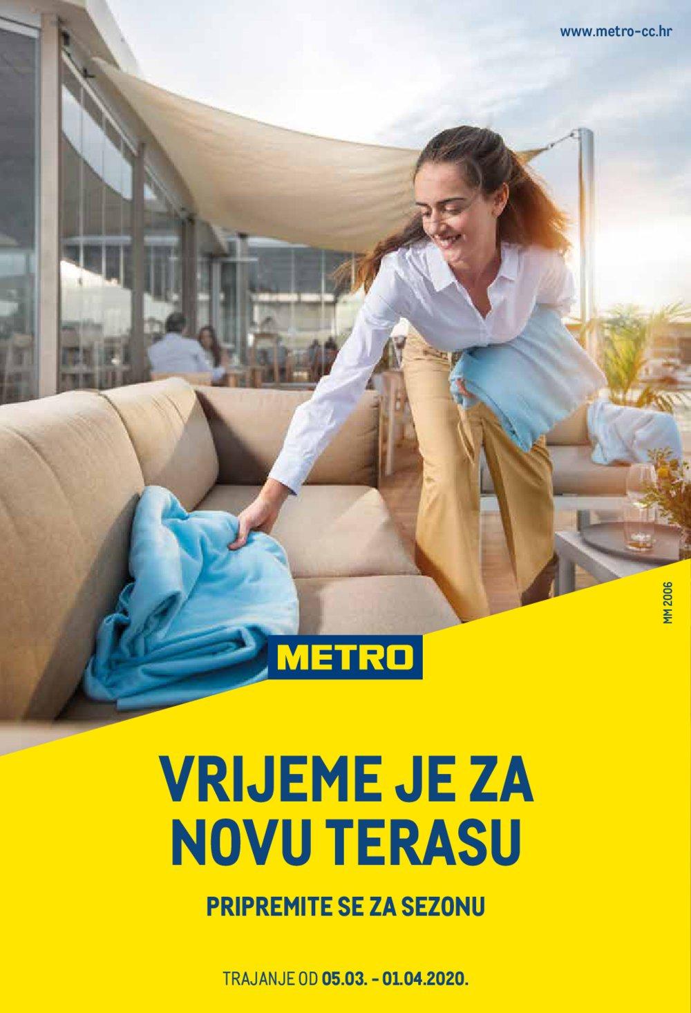 Metro katalog Akcija Sve za terasu 05.03.-01.04.2020.