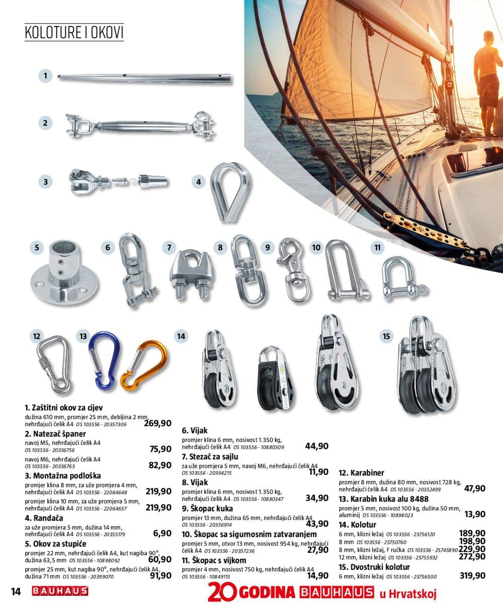 Bauhaus katalog Nautika 21.02.-31.10.2020.
