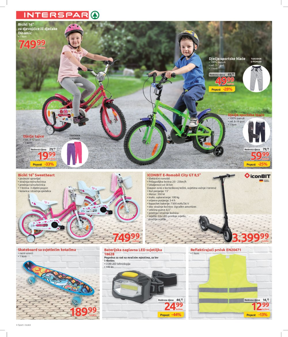 Interspar katalog Outdoor 11.03.-14.04.2020.