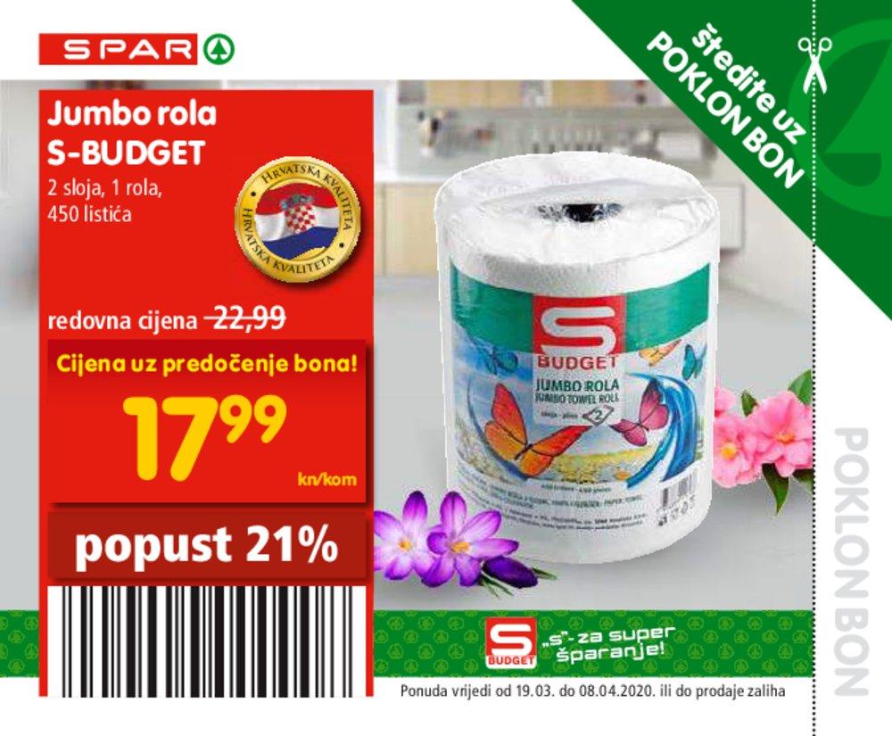 Spar katalog Bonovi 19.03.-08.04.2020.