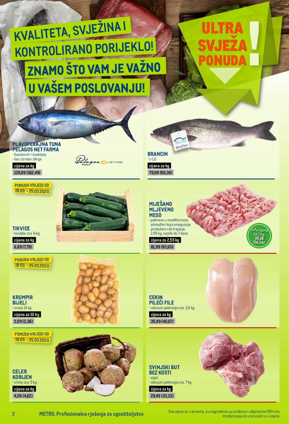 Metro katalog Posebna ponuda za ugostitelje 19.03.-01.04.2020.
