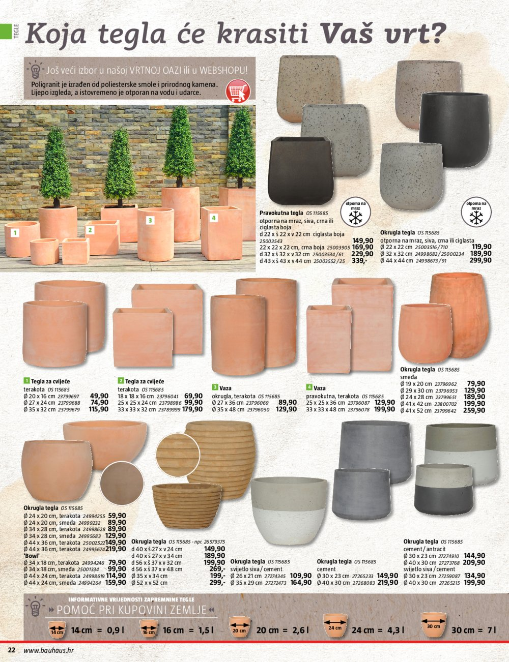 Bauhaus katalog Proljeće u vrtu 19.03.-31.08.2020.