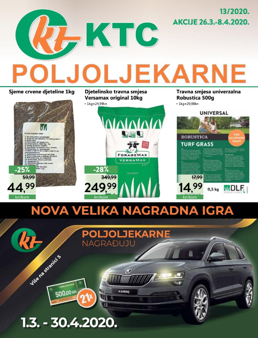 KTC katalog Akcija Poljoljekarna 26.03.-08.04.2020.