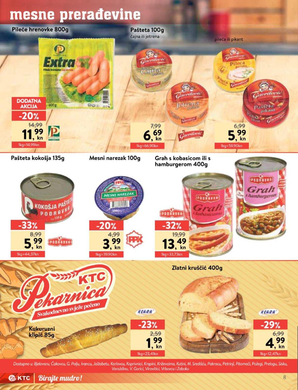 KTC katalog Akcija Prehrana 26.03.-01.04.2020.