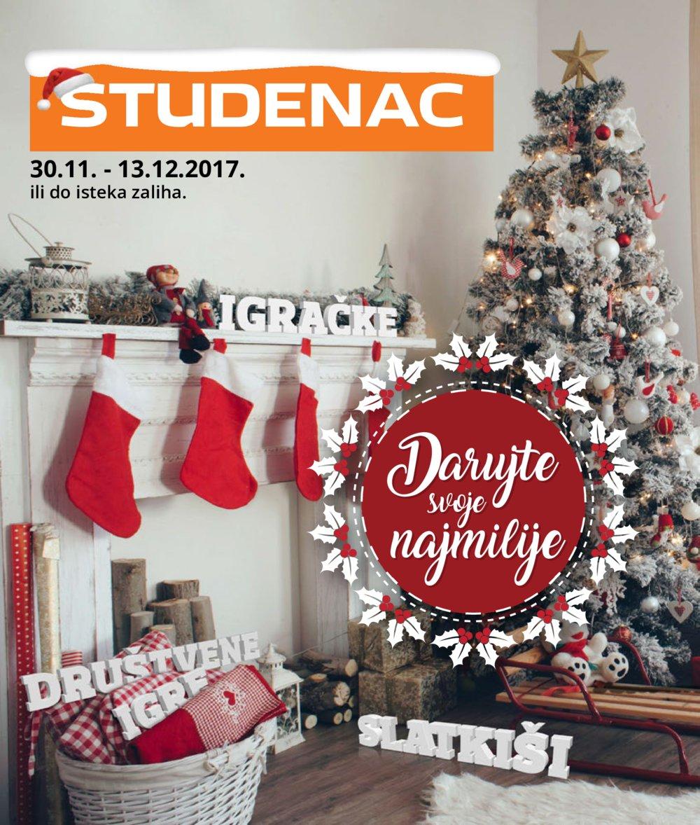 Studenac katalog Akcija 30.11.-13.12.2017.