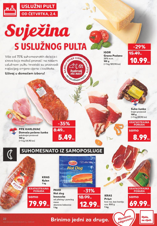 Kaufland katalog Akcija 02.04.08.04.2020.