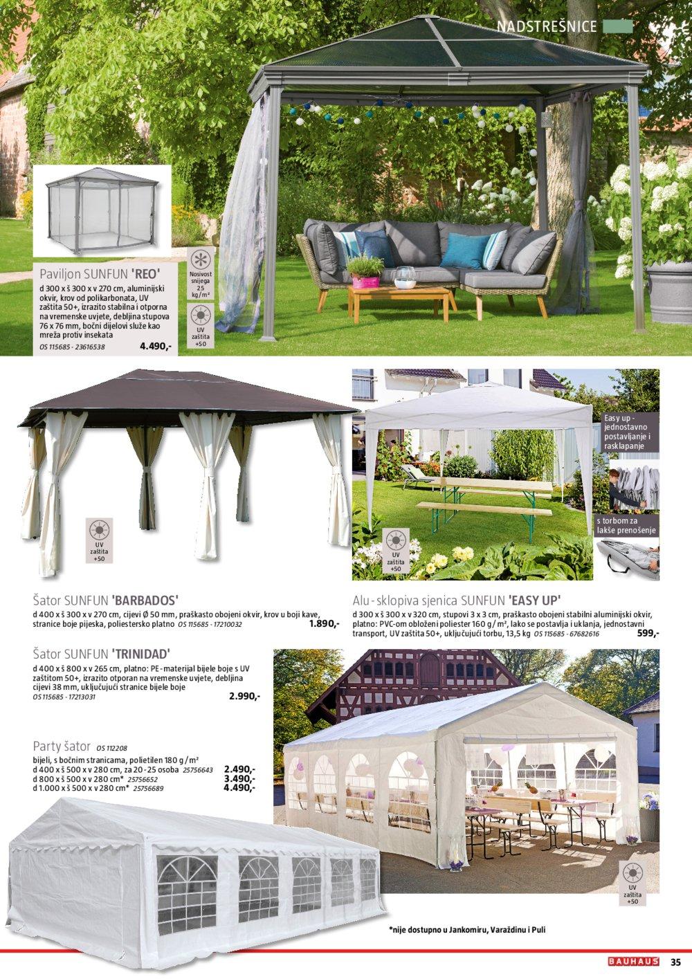 Bauhaus katalog Vrtni namještaj 23.04.-31.07.2020.