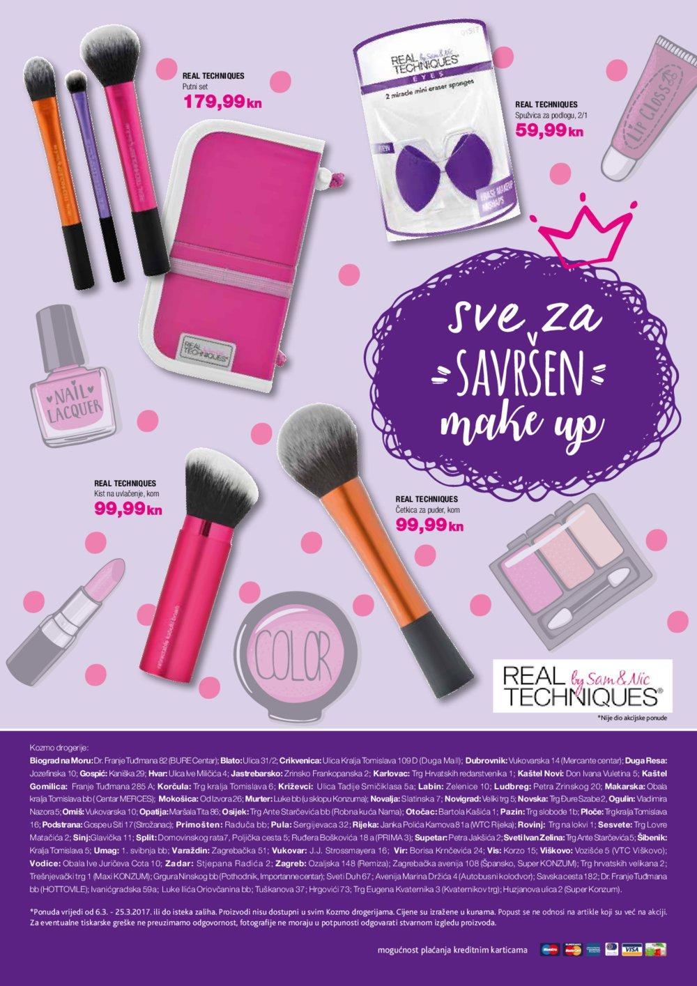 Kozmo katalog Beauty by Kozmo do 31.3.2017.
