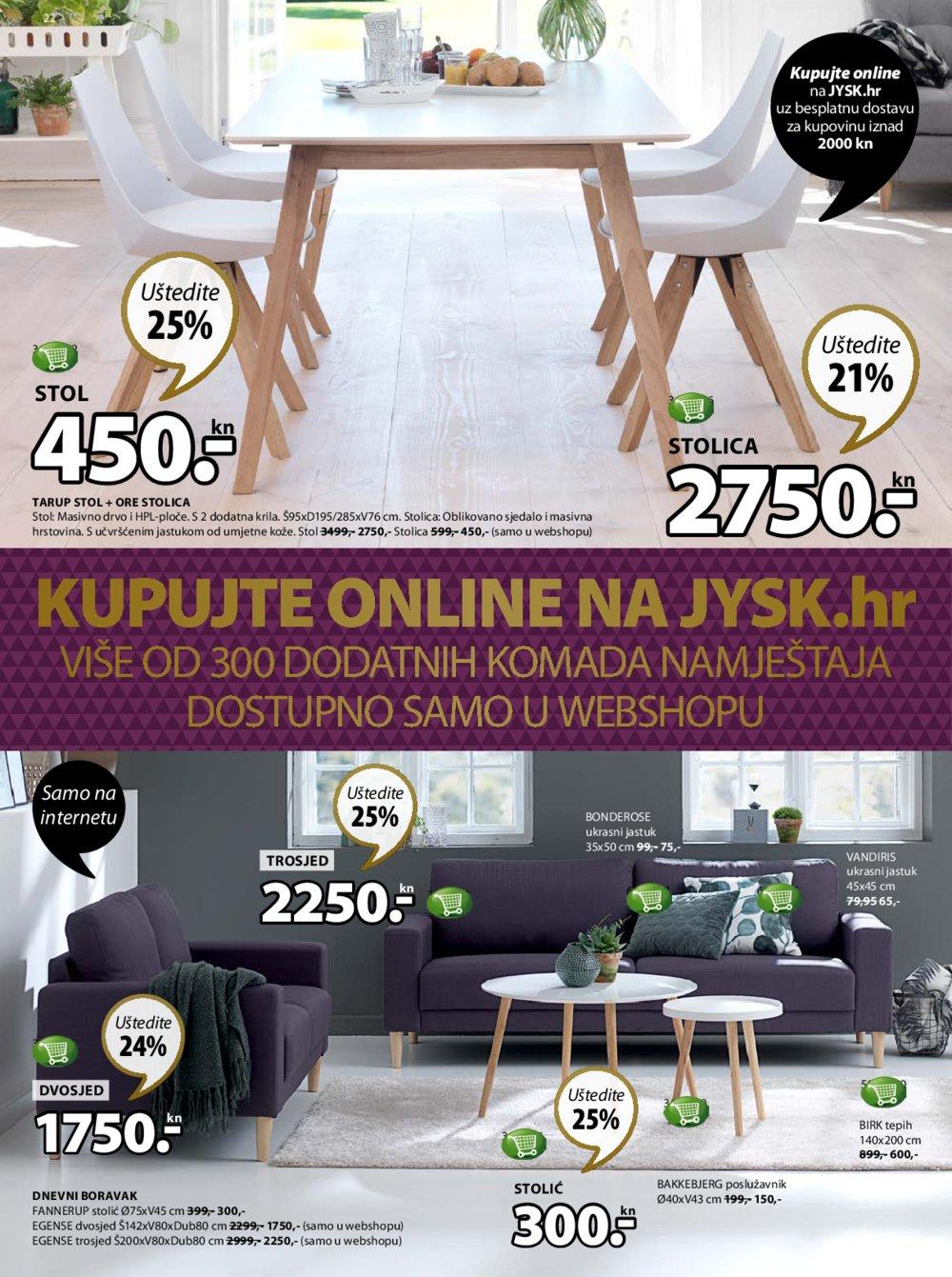 JYSK katalog Akcija od 07.12. do 20.12.2017.