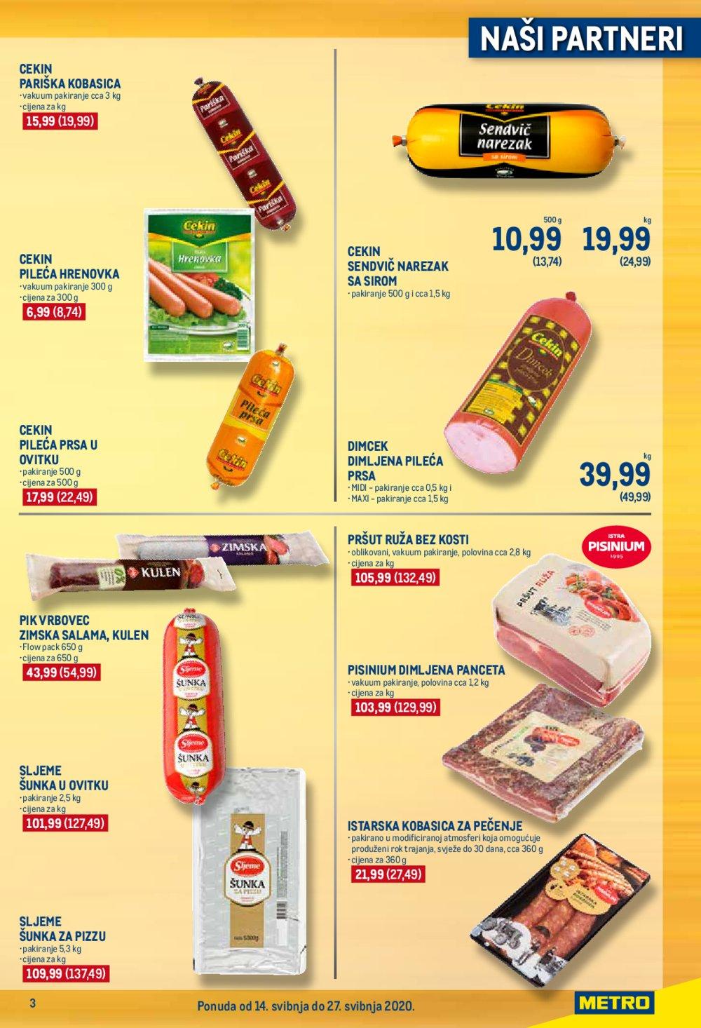 Metro katalog Ponuda partnera 14.05.-27.05.2020.