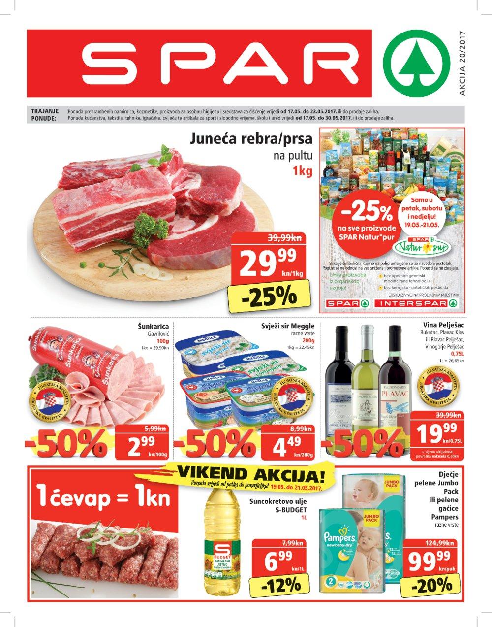 Spar Katalog akcija od 17.05. do 30.05.2017.