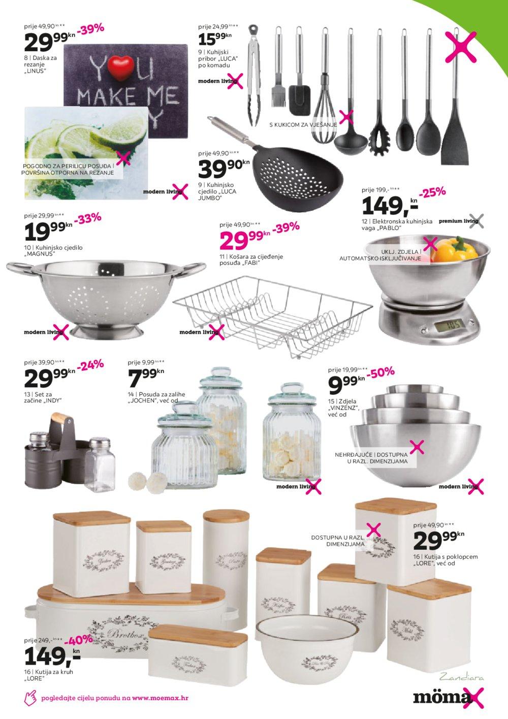 Momax katalog Funkcionalni kuhinjski trendovi 11.05.-30.05.2020.