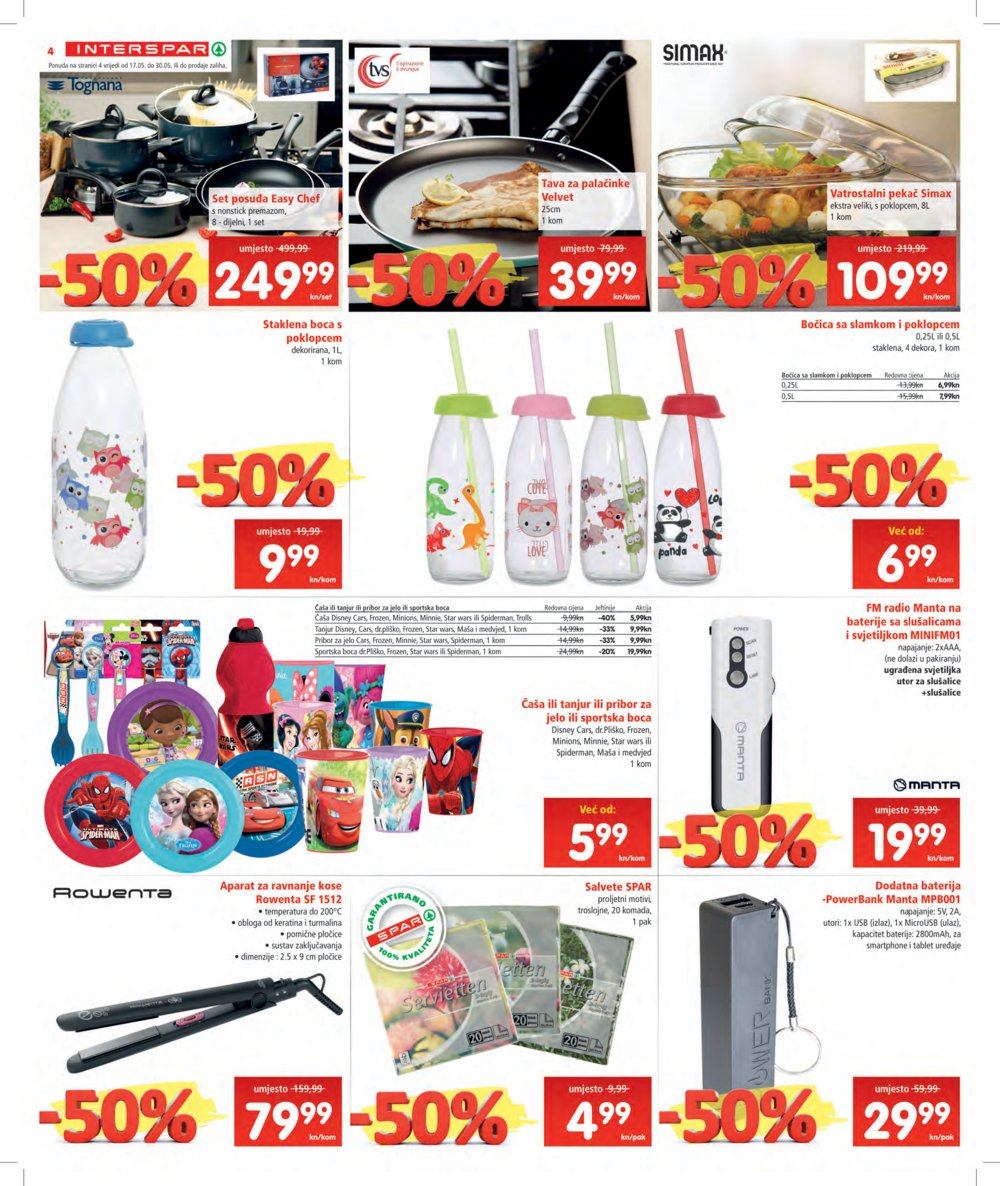Interspar katalog Akcija od 17.05. do 30.05.