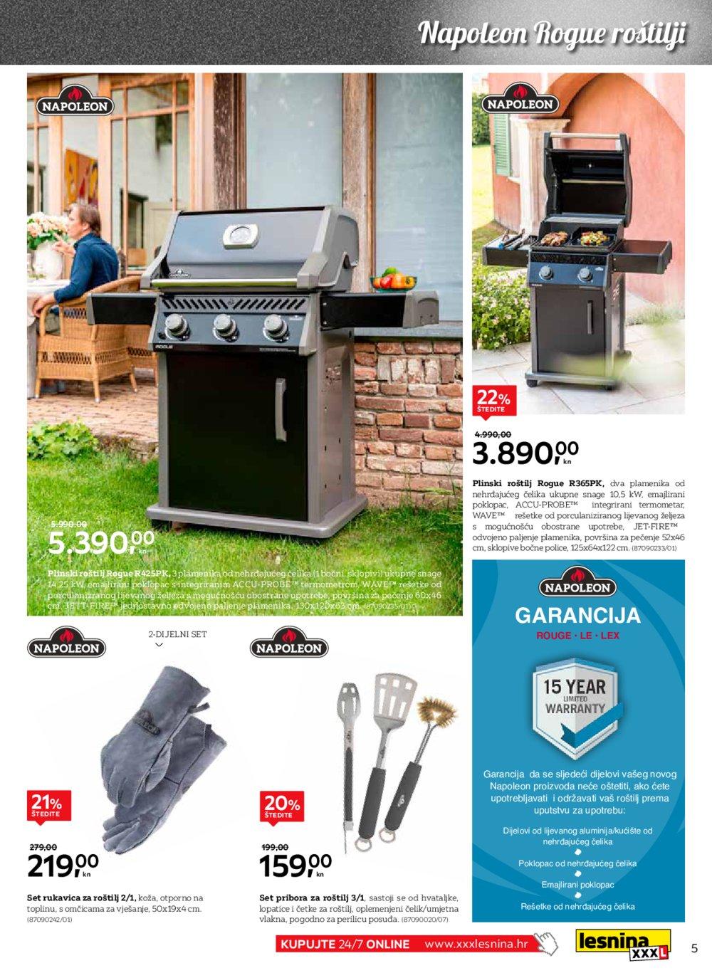 Lesnina katalog Volimo roštilj 20.05.-30.06.2020.