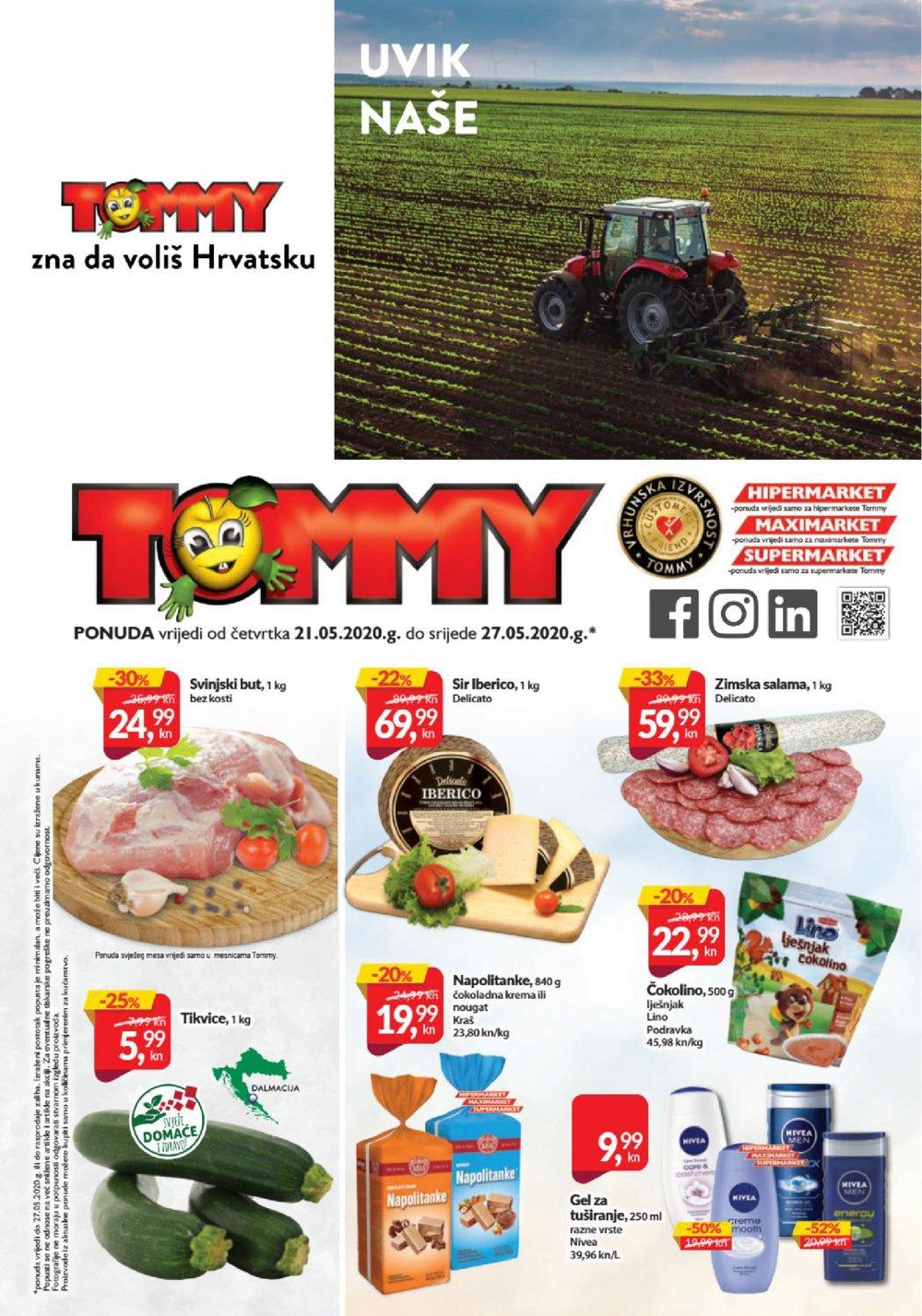 Tommy katalog Akcija 21.05.-27.05.2020.