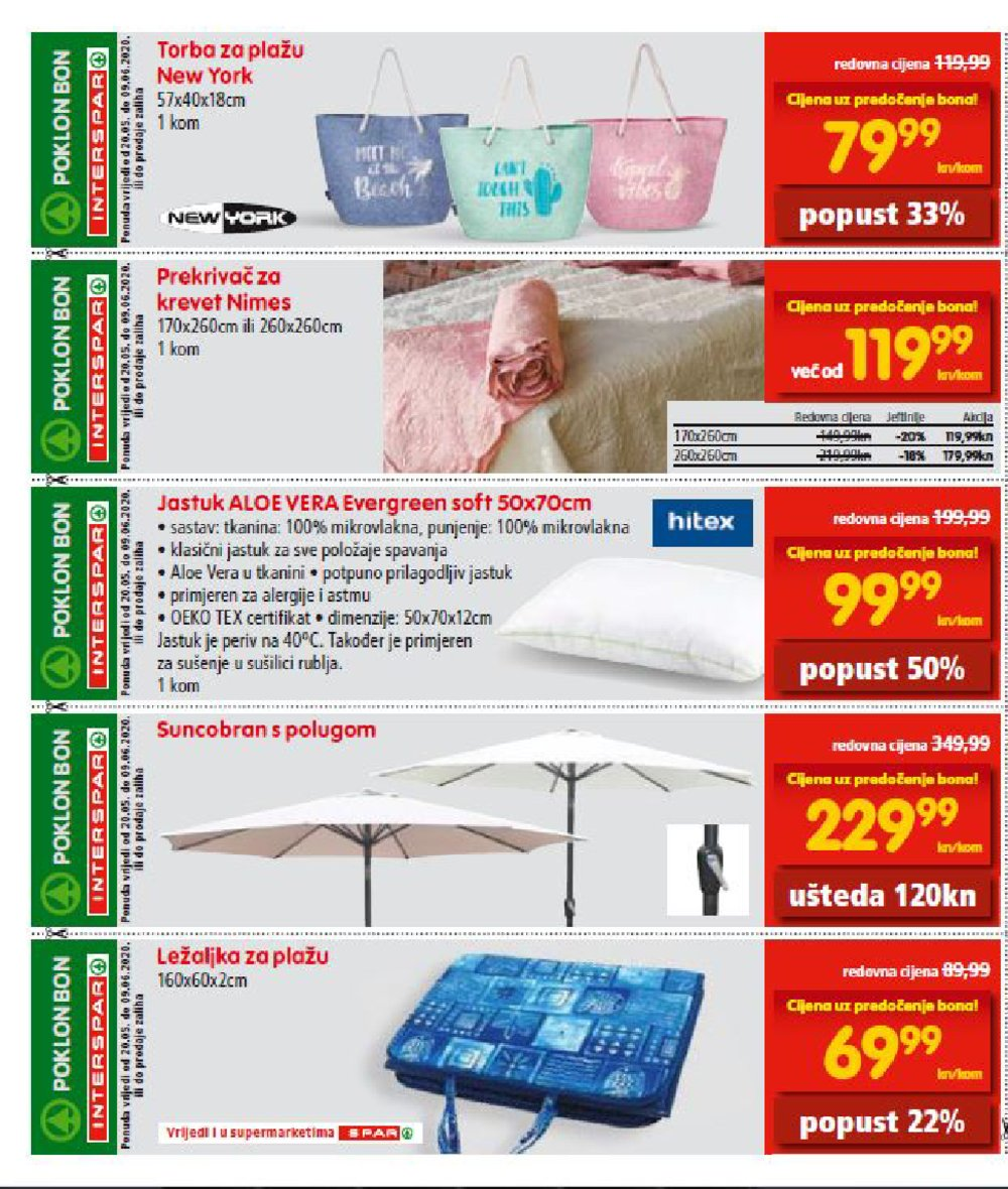 Interspar katalog Bonovi 20.05.-09.06.2020.