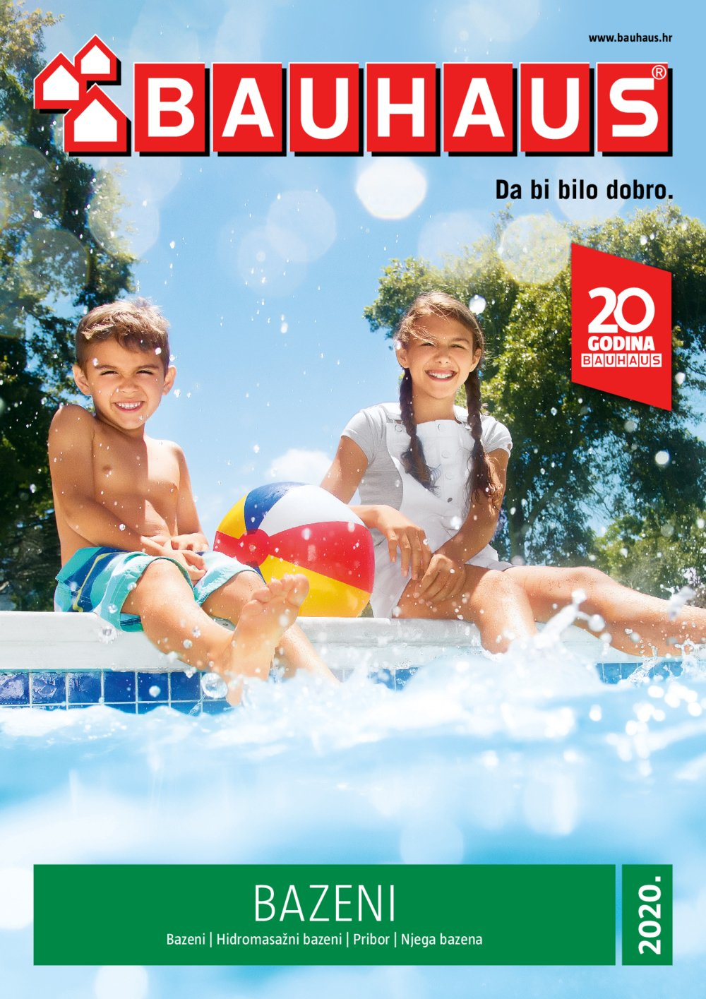 Bauhaus katalog Bazeni 21.05.-31.08.2020.