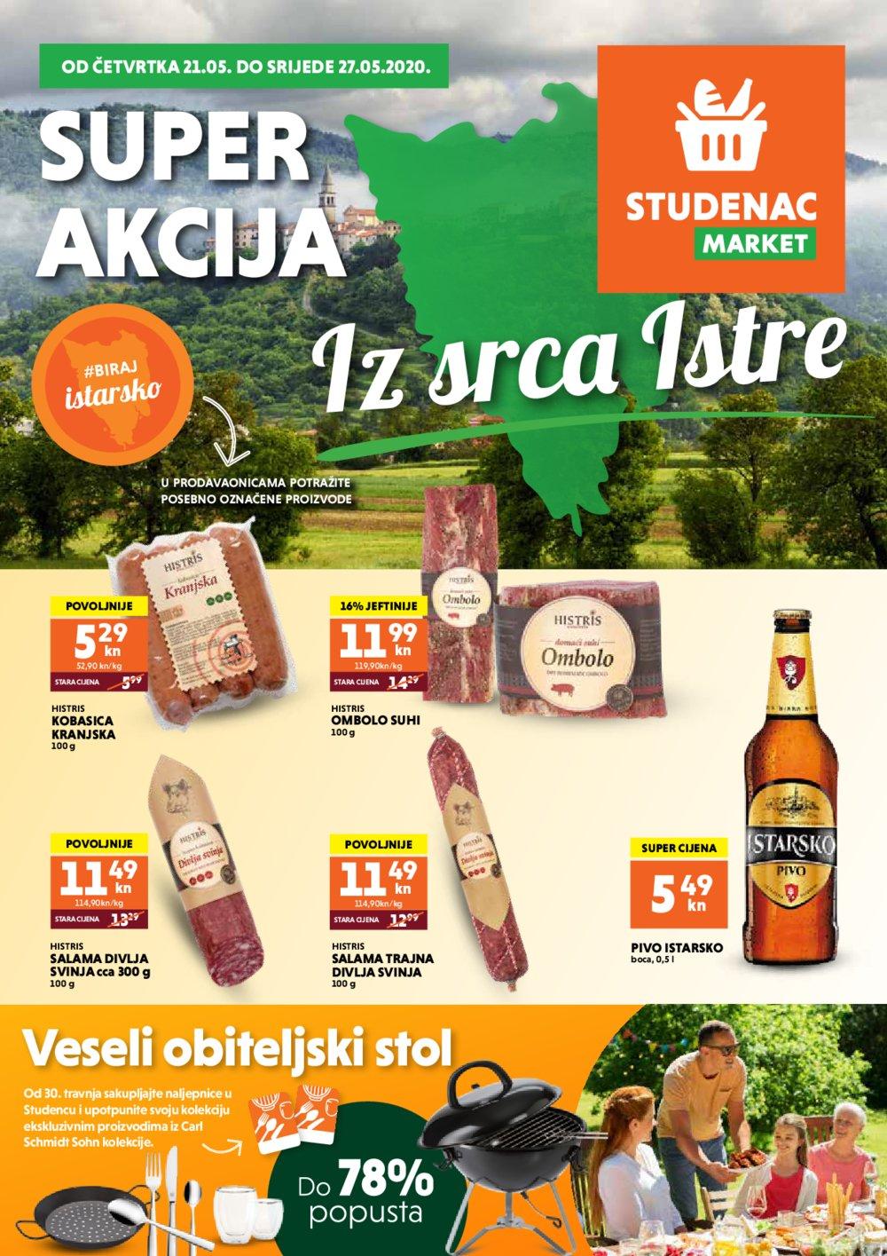 Studenac ISM katalog Super akcija 21.05.-27.05.2020.
