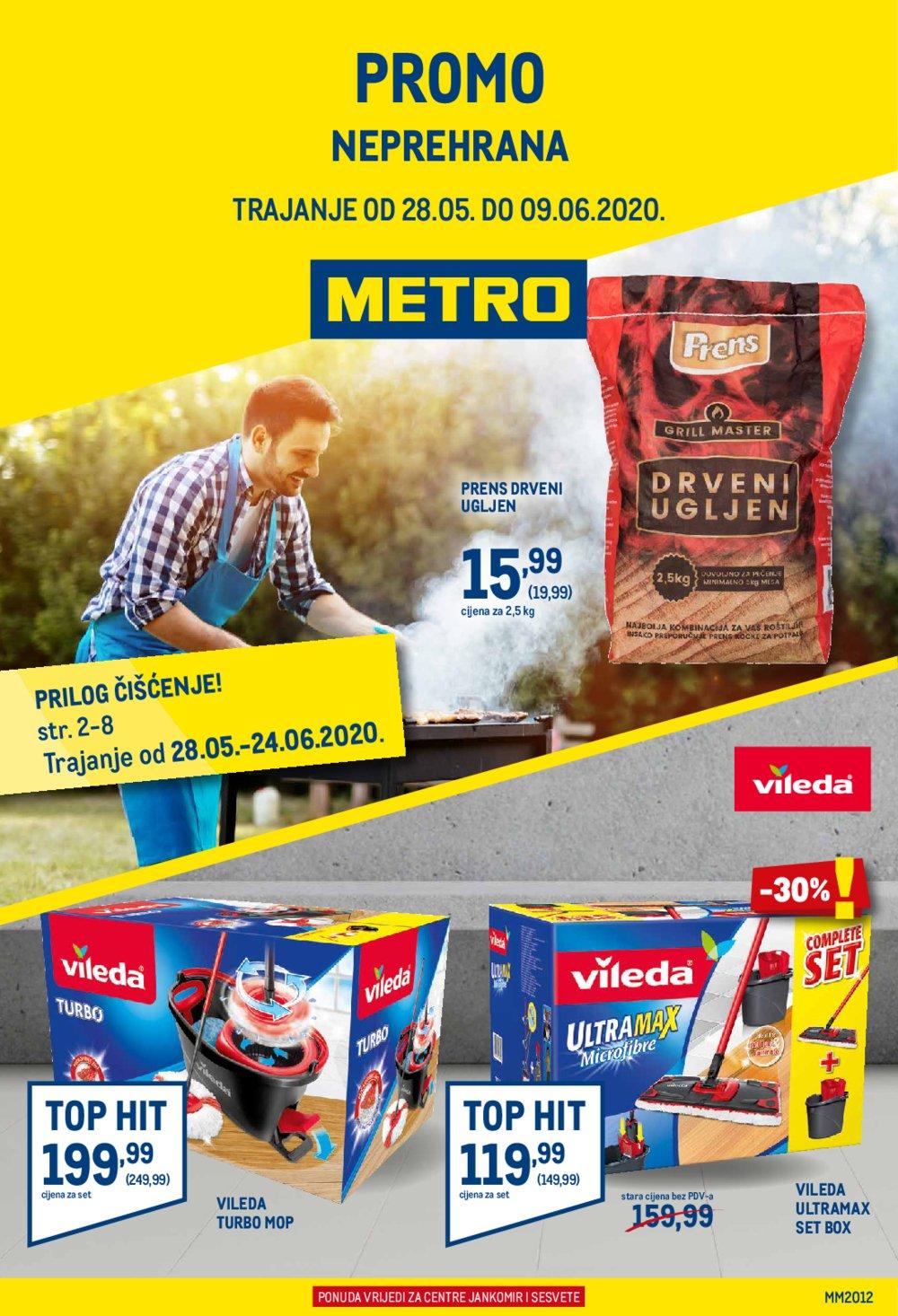 Metro katalog Neprehrana 28.05.-09.06.2020. Jankomir i Sesvete