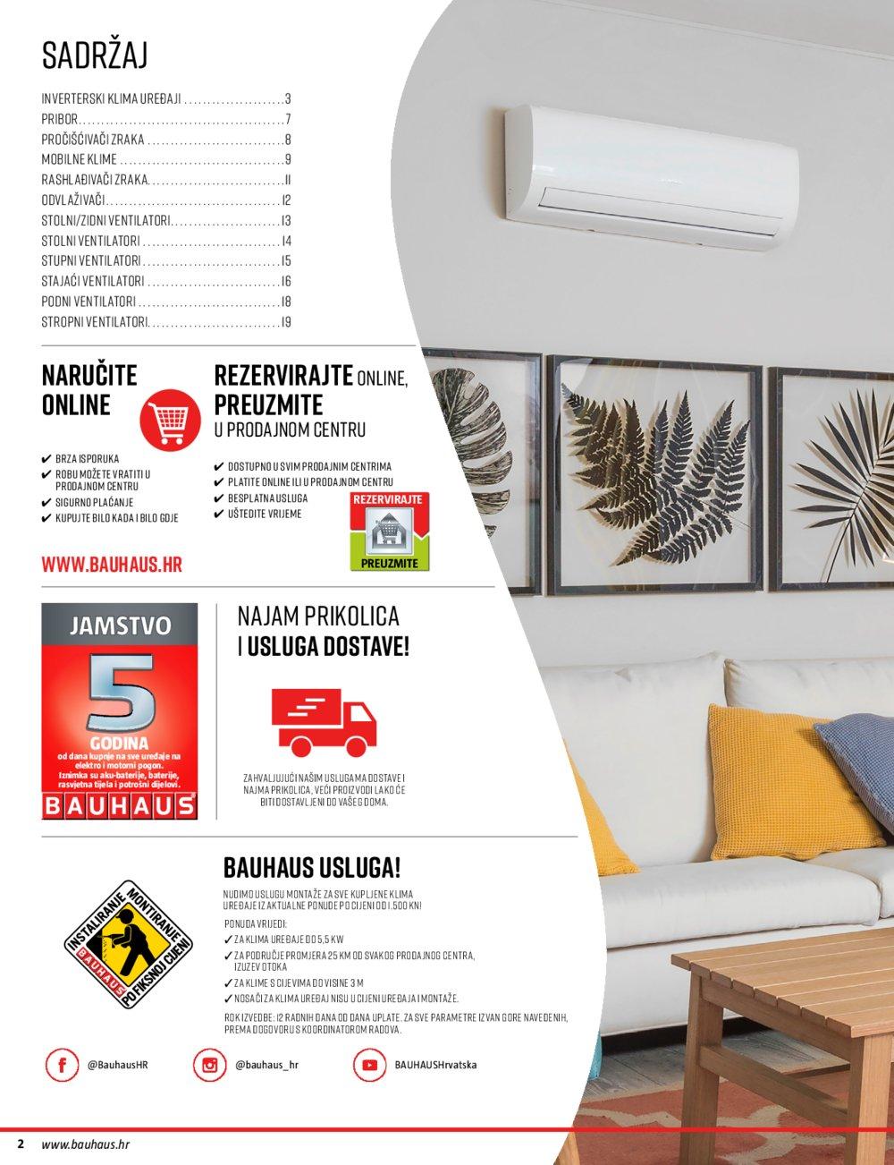 Bauhaus katalog Rashladni uređaji 28.05.-31.08.2020.