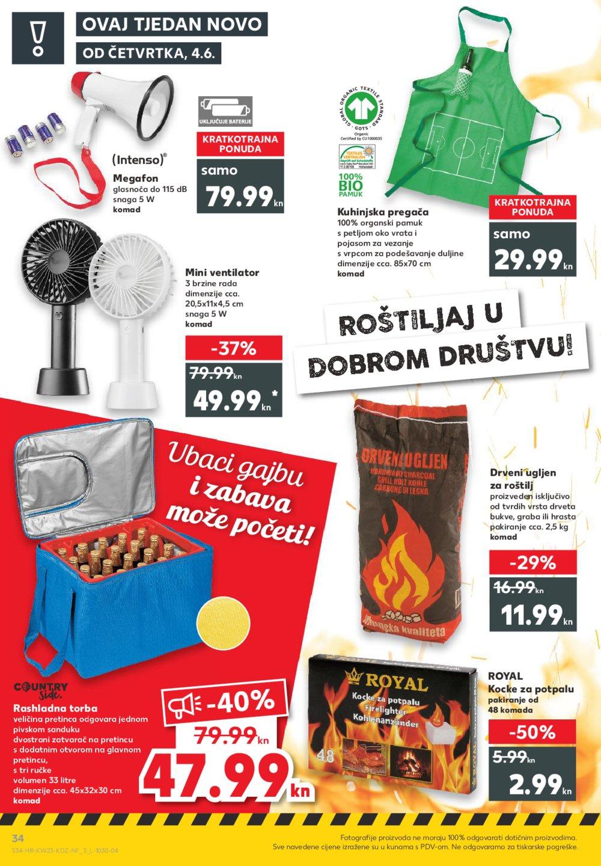 Kaufland katalog Akcija 04.06.-10.06.2020. Vg, Ma, DS, Vu, Po, Si