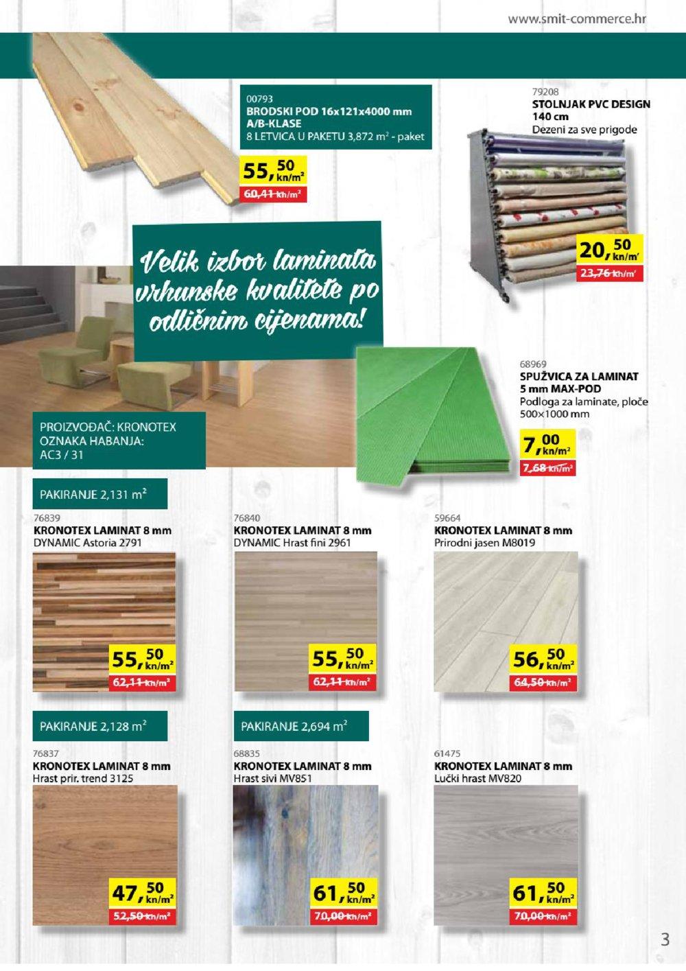 Smit Commerce katalog Sve za gradnju i opremanje stana od 15.12.2017. do 14.02.2018.