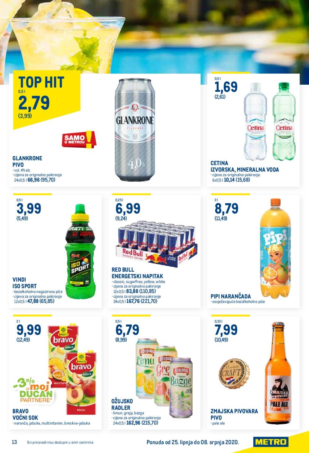 Metro katalog Ponuda prehrane 25.06.-08.07..2020.