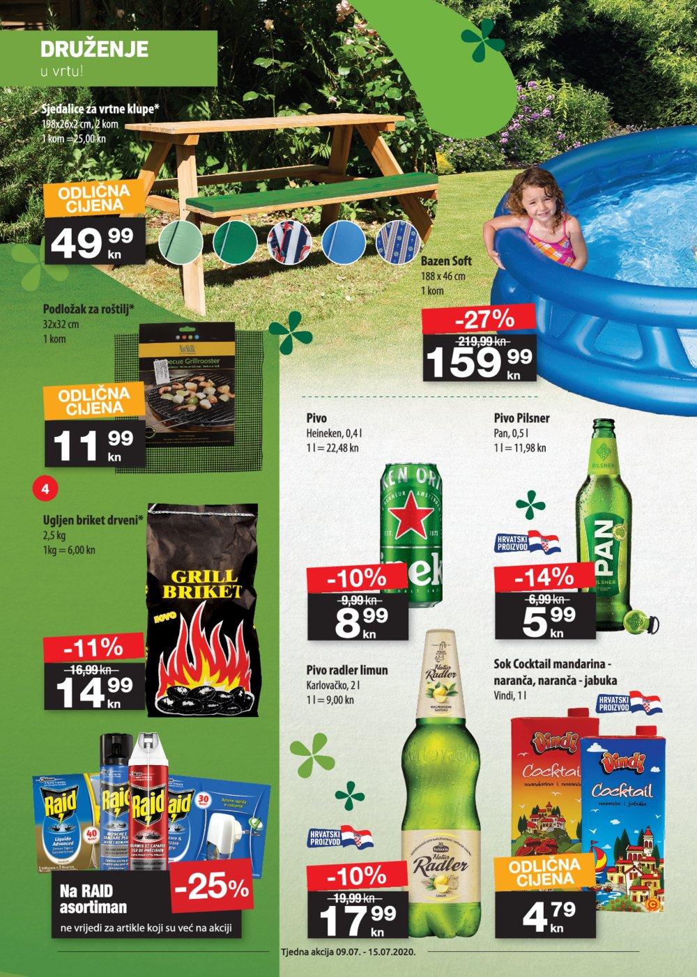 NTL katalog Tjedna akcija 09.07.-15.07.2020. Soblinec, Duga Resa, Lučko, Krapina, Zagreb Bužanova, Vlaška, Varaždin