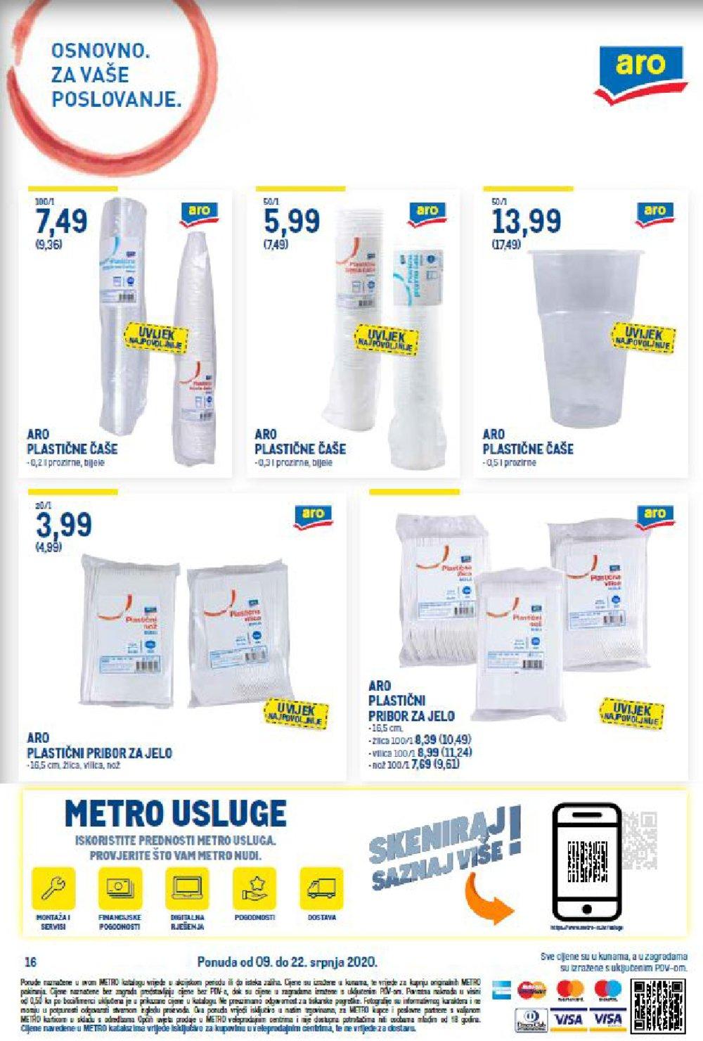 Metro katalog Akcija Prehrana 09.07.-22.07.2020.