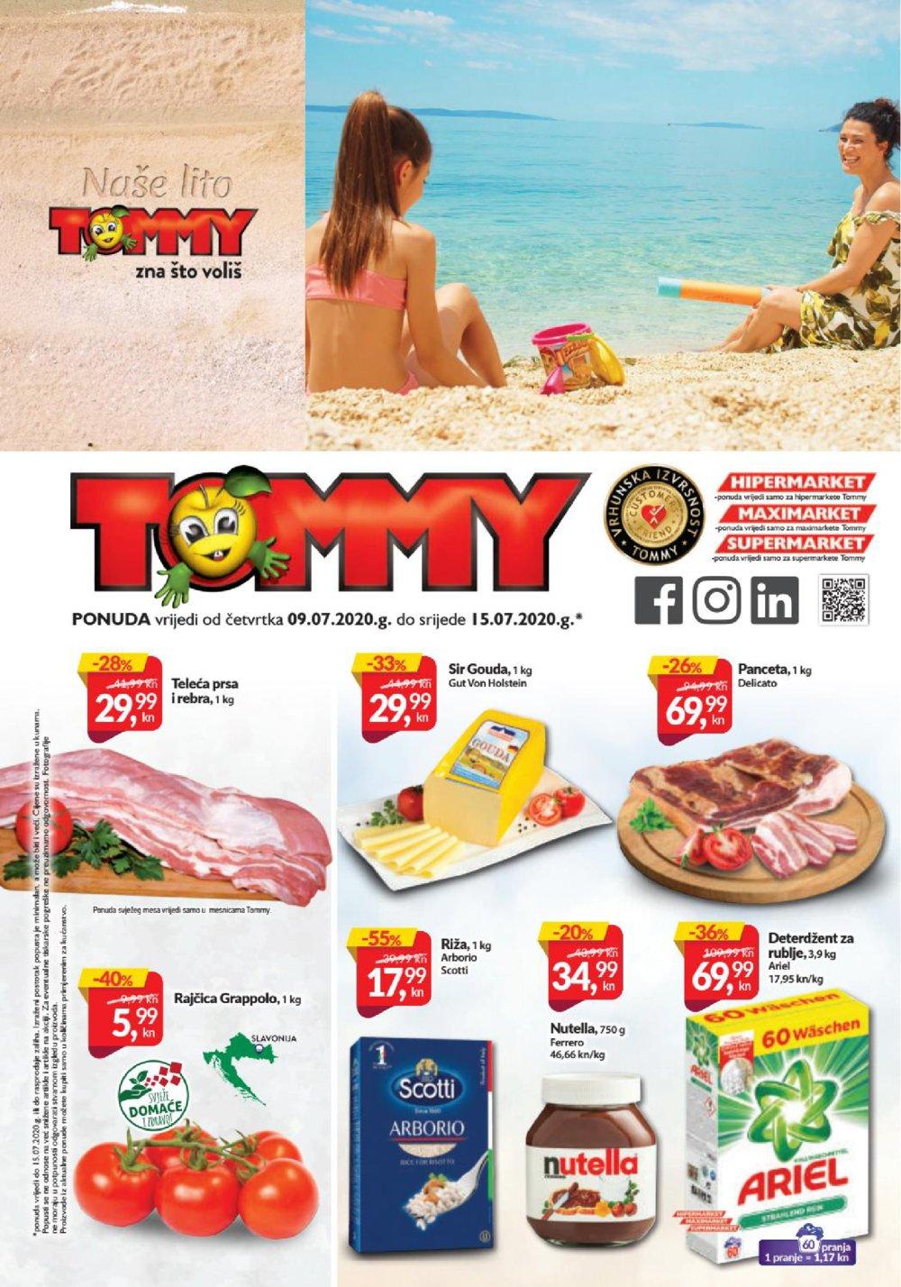 Tommy katalog Akcija 09.07.-15.07.2020.