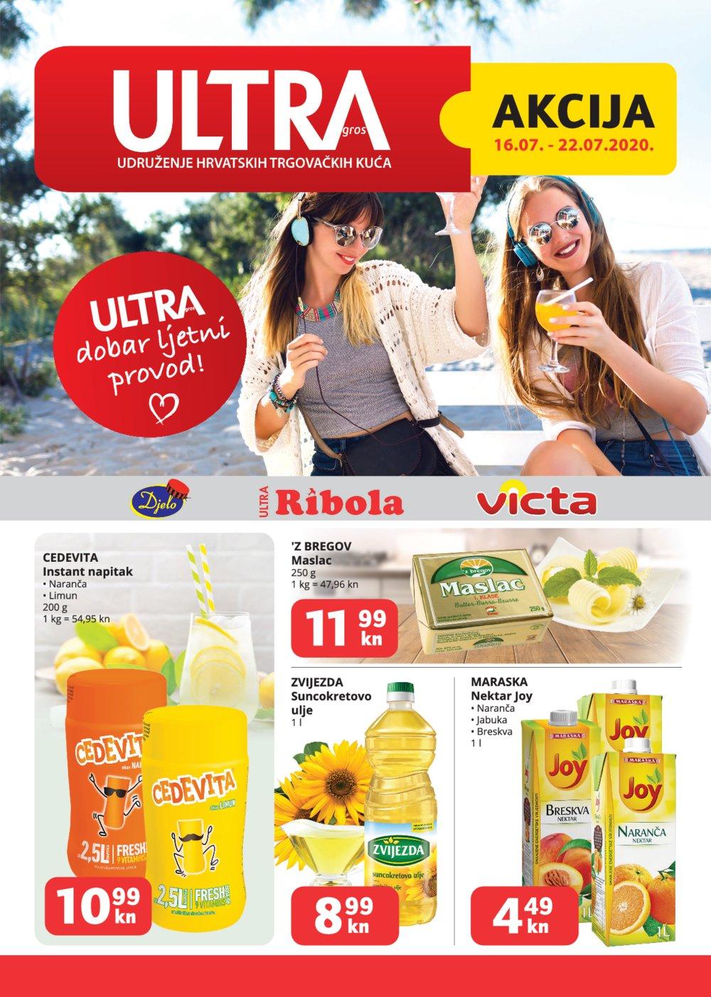 Ribola katalog Ultra gros Akcija 16.07.-22.07.2020.