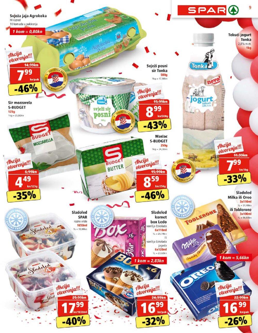 Spar katalog Otvorenje supermarketa Buje 23.07.-04.08.2020.