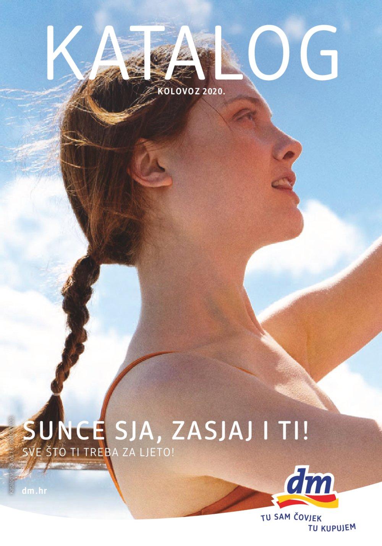 dm katalog Kolovoz 01.08.-15.08.2020.