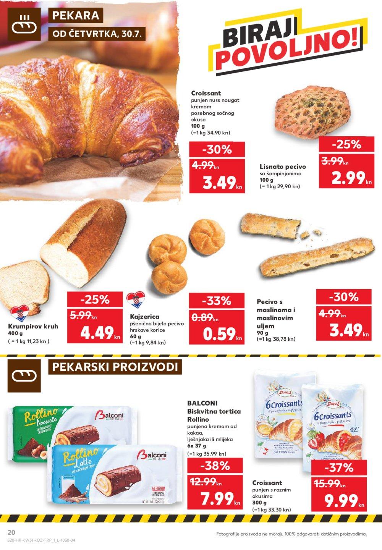 Kaufland katalog Akcija 30.07.-05.08.2020.