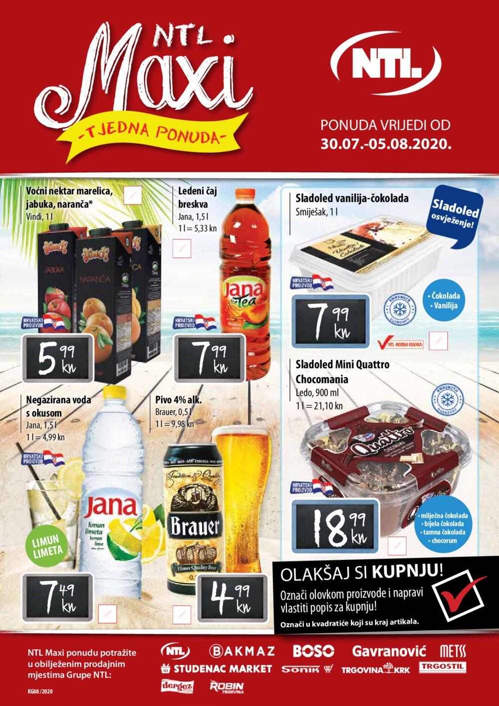 Gavranović katalog Tjedna ponuda 30.07.-05.08.2020.