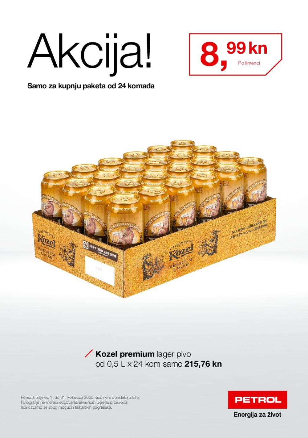 Petrol katalog Kolovoz 01.08.-31.08.2020.
